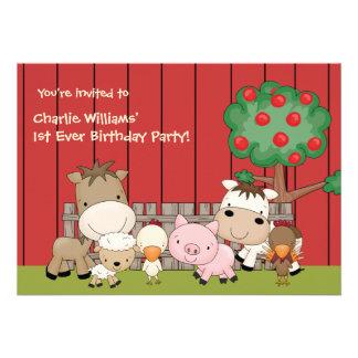 Invitación de la fiesta de cumpleaños de los compi