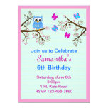 Invitación de la fiesta de cumpleaños de los niños invitación 13,9 x 19,0 cm