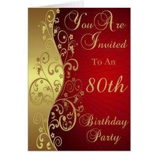 Invitación de la fiesta de cumpleaños de los remol tarjeton