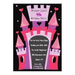 Invitación de la fiesta de cumpleaños de PRINCESA