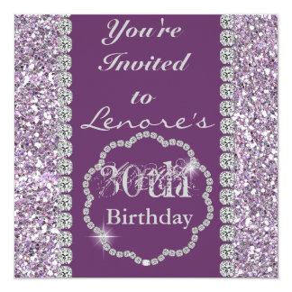 Invitación de la fiesta de cumpleaños de S de las