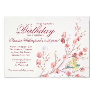 Invitación de la fiesta de cumpleaños del abrazo