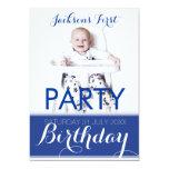 invitación de la fiesta de cumpleaños del bebé de