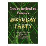 Invitación de la fiesta de cumpleaños del caballo, invitación 12,7 x 17,8 cm