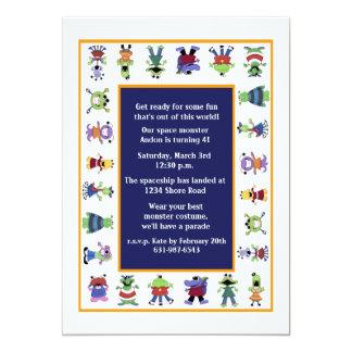 Invitación de la fiesta de cumpleaños del desfile