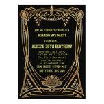 Invitación de la fiesta de cumpleaños del estilo