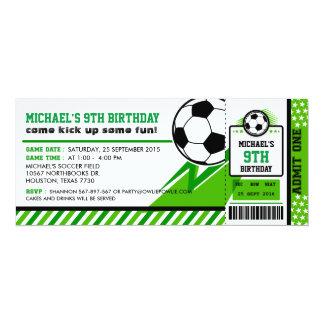 Invitación de la fiesta de cumpleaños del paso del
