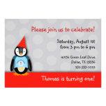 Invitación de la fiesta de cumpleaños del tango