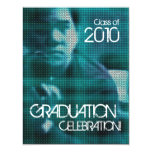Invitación de la fiesta de graduación 1 del parte invitación 10,8 x 13,9 cm