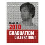 Invitación de la fiesta de graduación 3 del parte