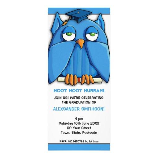 Invitación de la fiesta de graduación 4 del gradua