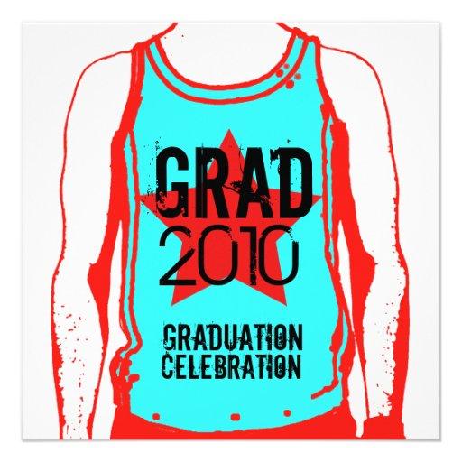 Invitación de la fiesta de graduación 5 de las cam
