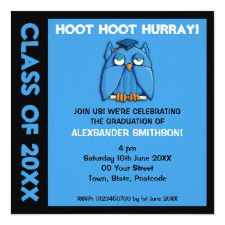 Invitación de la fiesta de graduación de la invitación 13,3 cm x 13,3cm