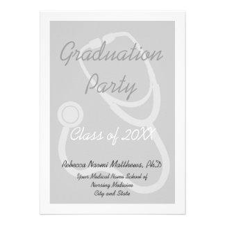 Invitación de la fiesta de graduación de la Facult