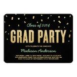 Invitación de la fiesta de graduación del