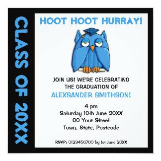 Invitación de la fiesta de graduación del graduado invitación 13,3 cm x 13,3cm