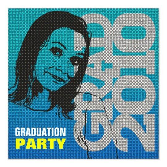 Invitación de la fiesta de graduación del parte