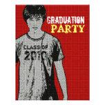 Invitación de la fiesta de graduación del parte mo