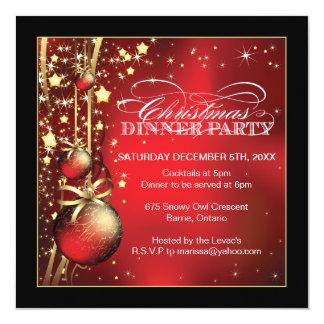 Invitación de la fiesta de Navidad