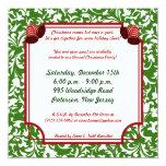 invitación de la fiesta de Navidad de 5x5 Santa