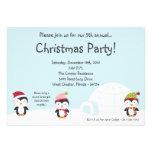 invitación de la fiesta de Navidad del iglú de los