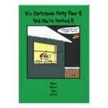 Invitación de la fiesta de Navidad: Presente de Pr