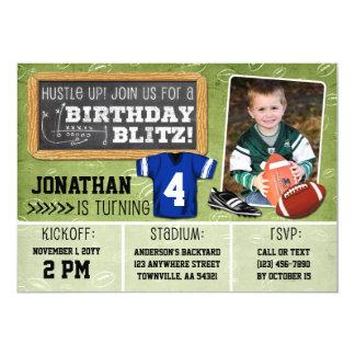 Invitación de la fiesta del cumpleaños de los