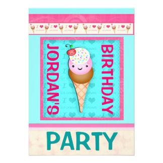 Invitación de la fiesta del cumpleaños de los niño