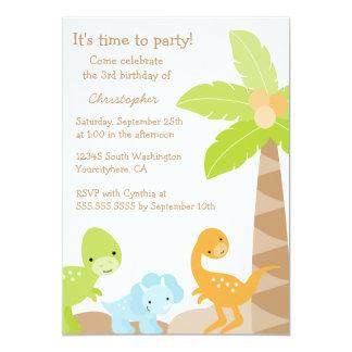 Invitación de la fiesta del cumpleaños del invitación 12,7 x 17,8 cm