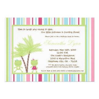 invitación de la fiesta del príncipe princesa cump
