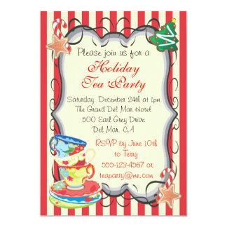 Invitación de la fiesta del té del Victorian del