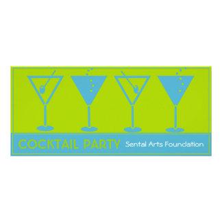 Invitación de la Fiesta-Recaudador de fondos del c Diseño De Tarjeta Publicitaria