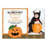 Invitación de la foto del fiesta de Halloween de Invitación 12,7 X 17,8 Cm