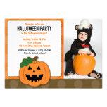 Invitación de la foto del fiesta de Halloween de l