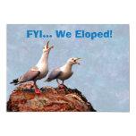 Invitación de la gaviota Eloped