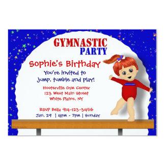Invitación de la gimnasia