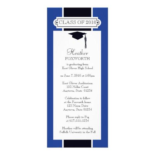 invitación de la graduación 20xx - personalice