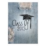 Invitación de la graduación - clase rasgada de los invitación 12,7 x 17,8 cm