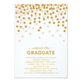 Invitación de la graduación de la celebración del
