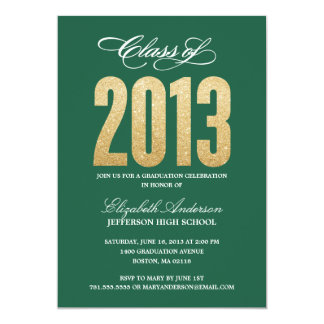Invitación de la graduación de la chispa