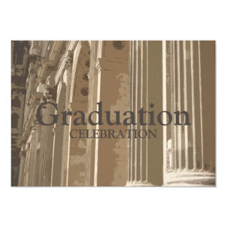 Invitación de la graduación de la columnata