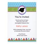 Invitación de la graduación de la guardería invitación 12,7 x 17,8 cm