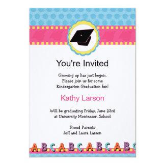 Invitación de la graduación de la guardería