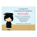 Invitación de la graduación de nuestra niña