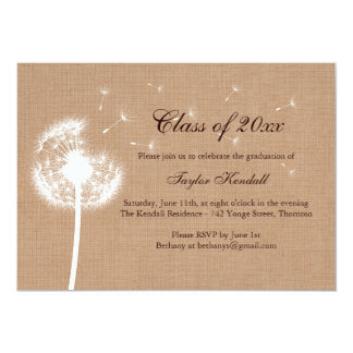 Invitación de la graduación de recuerdos de la