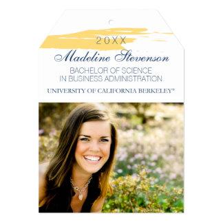 Invitación de la graduación de Uc Berkeley