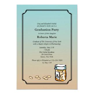 Invitación de la graduación del farmacéutico