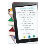 Invitación de la graduación del graduado de la invitación 12,7 x 17,8 cm