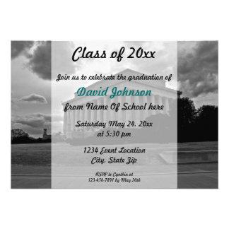 Invitación de la graduación del Lincoln memorial