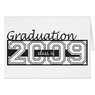 Invitación de la graduación tarjeta